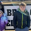 After months of sequester, Bear Creek Elementary students Nolan and Kia O'Connor are socially motivated and stoked to be back in the classroom.