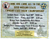 2019 OR State Cowboy Fast Draw Championship - Uploaded by Jen Koue