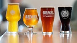 Bevel Craft Brewing's line up - Uploaded by Valarie Doss