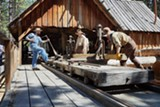 Sawmill Demo - Uploaded by TheHighDesertMuseum