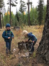 Kids exploring nature - Uploaded by DeschutesLandTrust1