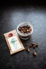 Still Vibrato coffee cashews with Seahorse Chocolate - Uploaded by Gather