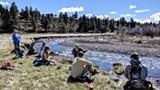 Folks picnic on Land Trust Preserves. - Uploaded by Deschutes Land Trust