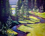 Sparks Lake Creek - Uploaded by Barbara Cella