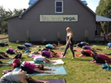 Easy flow yoga is even better outdoors! - Uploaded by tiffysquid