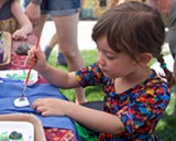 Kid Made Camp offers free activities at Sisters Farmers Market. Good fun! - Uploaded by tiffysquid