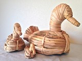 Traditional Tule Reed Duck Decoys, by Joey Allen, Paiute - Uploaded by Raven Makes Gallery
