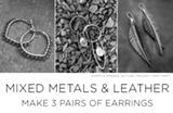 Jewelry Making - Mixed Metals and Leather - Uploaded by Maggy Mason-Hughes
