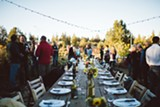 Long Table Dinner out on the Farm - Uploaded by Bend Media