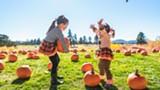 Pumpkin picking at Sunriver Resort's pumpkin patch! - Uploaded by kelsey.sunriver