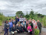 Portland Chapter of Fat Girls Hiking at Fernhill Wetlands - Uploaded by katrinaterp