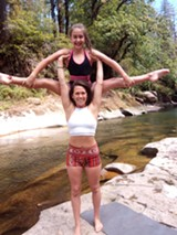 AcroYoga is such a fun way to connect and play! - Uploaded by Tin Bindi