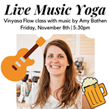 Live Music Yoga with Amy Bathen - Uploaded by Helen Cloots