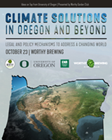 Climate Solutions in Oregon and Beyond - Uploaded by Kody Osborne