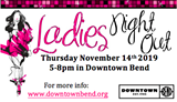 Ladies Night Out in Downtown Bend - Uploaded by downtownbend