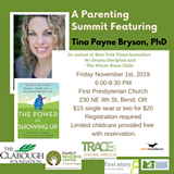 What's the one thing a parent can do to make the most difference in the long run? The research is clear: Show up! Bestselling author Dr. Tina Payne Bryson will explain what this means over the course of childhood at FRC's Fall 2019 Parenting Summit. - Uploaded by FRC Central OR