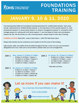 Foster Care Foundations Training - Uploaded by Dhs Certifier