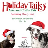 Holiday Tails Art Fair benefit homeless animals - Uploaded by Humane Society C.OR