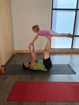 Family AcroYoga Fun! - Uploaded by Free Spirit Yoga + Fitness + Play
