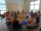 Moms and Babies Enjoying Each Other's Company - Uploaded by Free Spirit Yoga + Fitness + Play