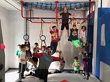 Building our muscles in fitness class to be strong Ninjas! - Uploaded by Free Spirit Yoga + Fitness + Play