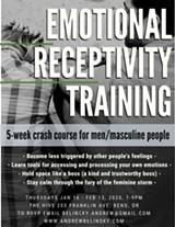 Emotional Receptivity Training 5-Week Course - Uploaded by Andrew Belinsky