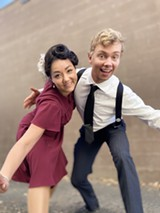 Sara Lee Conners and Jaron Ellis with Bend Lindy Hop - Uploaded by Emmyv11