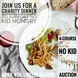 Pop-Up Dinner Fundraiser for No Kid Hungry - Uploaded by Ingredient Studio