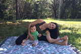 Outdoor Mom and Baby Yoga Picnic - Uploaded by Free Spirit Yoga + Fitness + Play