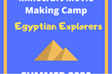Minecraft movie making camp - Uploaded by anne001