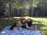 Outdoor Mom + Baby Yoga Picnic - Uploaded by Free Spirit Yoga + Fitness + Play