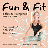 Fun and Fit (a flow to strengthen arms and core) - Uploaded by Namaspa Yoga Community