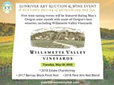 Williamette Valley Vineyards Wine Tasting Virtual Event. Join the winery guided tasting May 18th. - Uploaded by srwcartauction