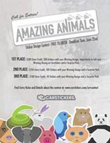 Amazing Animals Design Contest Flier - Uploaded by BCoyne