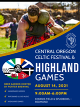 Highland Games. Handmade goods, Beer Garden. Celtic Music, Bagpipers - Uploaded by Northern Piper