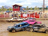 ERIN ROOK - The annual Father's Day Demolition Derby raised funds for the Lion' Club.