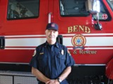 KRISTY CAREY - Bend Fire Battalion Chief Dave Howe.