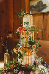 PHOTO COURTESY OF FOXTAIL BAKERY - Foxtail Bakery's naked cake.