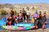 Ride the the whitewater wave trains of the Lower Deschutes with Tumalo Creek during our 3-day Camp. - Uploaded by solalchemytemple