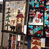 Mountain Meadow Quilters quilt display - Uploaded by KarenP