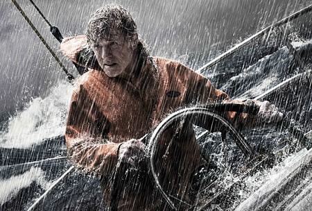 AGAINST THE ELEMENTS Robert Redford, all alone, battles a storm in 'All Is Lost,' screening Oct. 12 and 13.