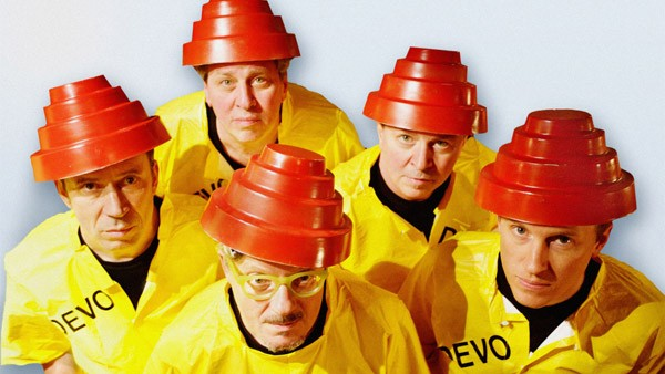 ARE THEY NOT MEN? Devo's stance on de-evolution was ahead of its time.