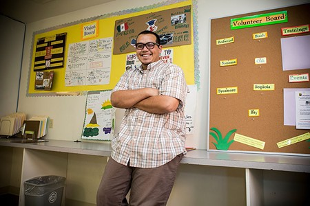 ARMED WITH ACCOUNTABILITY 'Justice,' says Karym Sanchez of Restorative Resources, 'has to come from a place of love.'