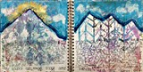 Art journals by Susie Stonefield Miller