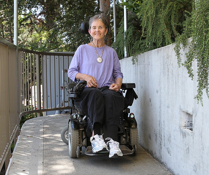 BATTLING BACK Grace Dammann's story is one of reslience over depair.