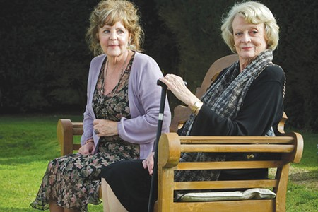 BEATING THE BAND Pauline Collins and Maggie Smith in 'Quartet.'