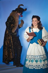 BELLE OF THE BALL Brittany Law and Zachary Hasbany in 'Beast.'