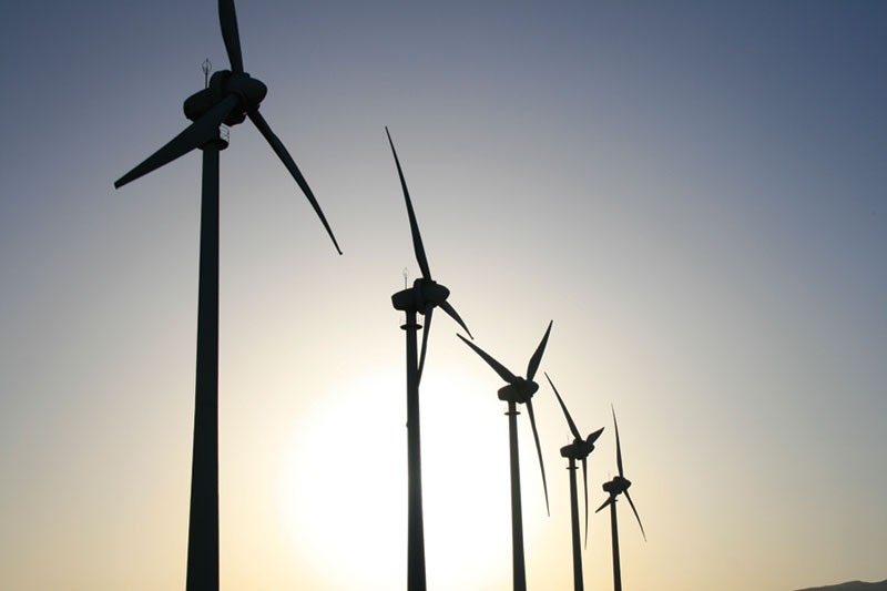 BIGGEST FANS Though Sonoma County has natural resources for local energy, it may have to buy from an outside company.