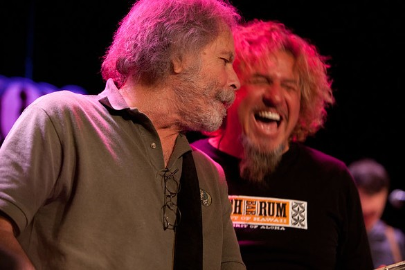 Bob Weir & Sammy Hagar at Sweetwater Music Hall
