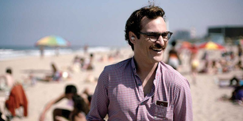 BYE GOOD It's all about the mustache in Joaquin Phoenix's performance.